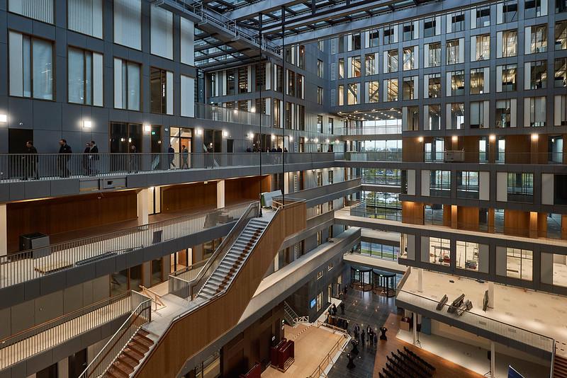 VU Nieuwe Universiteitsgebouw. Foto Marcel Steinbach via zuidas.nl