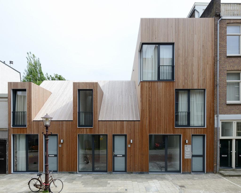 houten huisjes wenslauerstraat